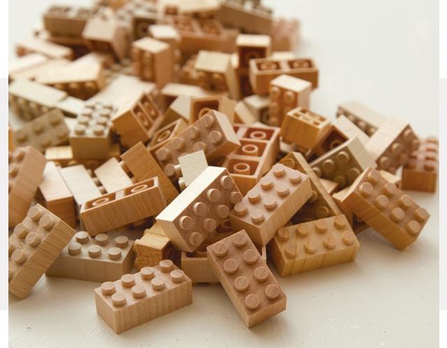 もくロック 自然素材の木製おもちゃ